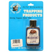 Rickard?s Trapping Lure - Muskrat, 1.25oz.