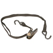 "Big Game Universal Ratchet Strap, 1"" x 6_, Black"