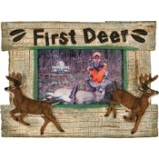 "Rivers Edge First Deer Picture Frame, 4""x6"""