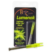 Burt Coyote Lumenok - 1/pk., S, 1/pk., Green, Std. Carbon