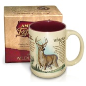 Am Exp Wildlife Coffee Mug - Whitetail Deer, 15oz.
