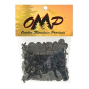 "OMP Slotted Kisser Button, 9/16"", 100/pk."