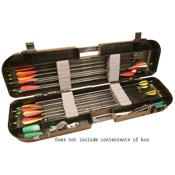 MTM Arrow-Plus Case, Smoke, 36 Arrow