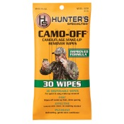 "H.S. Camo-Off Wipes, 7""x4"", 30/pk."