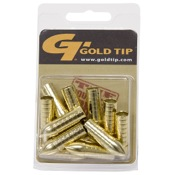 Gold Tip Glue-in Points - Triple X Bullet, 12/pk., 100gr., Stainless