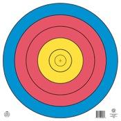 Maple Leaf FITA Waterproof Target, 80cm, ea., 5-Ring