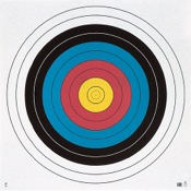 Maple Leaf FITA Waterproof Target, 122cm, ea., 10-Ring