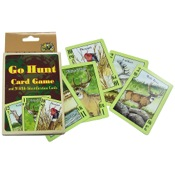 Top Brass Go Hunt Card Game, for young hunters