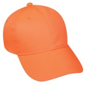 Outdoor Cap 6 Panel Mid Profile Cap, One Size, Blaze