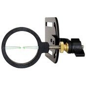 Hind Sight Twilight Sight, Yellow, Rear Mount Sight, RH/LH