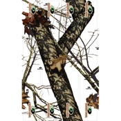 "LVE Extreme Arrow Wraps - Mossy Oak Winter, 4"", 12/pk., MO Winter, Carbon"
