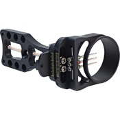 Viper Predator Hunter 250 Sight, Black, 3 Pin .019, RH