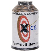 Brownell Xcel Tri Color Combo, 1/4lb., Tan/Brn/Black, Vectran/Dyneema