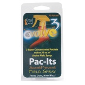 DDW Evolve3 ScentPrevent Pac-It Concentrated Field Spray, 3/pk.