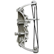 Empire Hunting Bow Pin, Pewter
