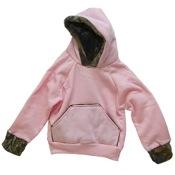 BCS Hooded Pink Sweatshirt, 6-7T, Pink/Camo