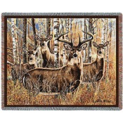 "Pure Country Woven Throw Sudden Encounter, 54""x70"""