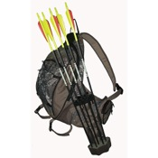 Tarantula Slingshot Maq Hunting Quiver/Pack, 1200 cu in, BrkUp, 5 Arrow