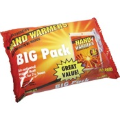 "Grabber Hand Warmer Big Pack, 9""x5"", 10pr/pk"