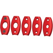 Aim Outdoors Loc-A-Peep Hunter Lite Kit, Red, 5 Sizes