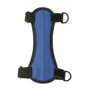 "OMP Youth Armguard, 6.75"", Blue, 2 H&L Strap"