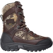 "LaCrosse Hunt Pac Extreme 10"" Boot, 9, BrkUp, Leather, 2000gm"