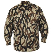 ASAT L/S Field Shirt, Lg, ASAT, Cotton