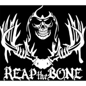 LVE Reaper Skull Decal, Std, White