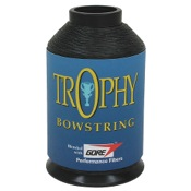 BCY Trophy Bowstring Material, 1/4 lb., Black