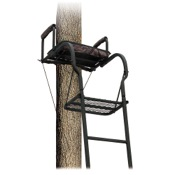 "Big Dog Foxhound 16_ Ladder Stand, 17.2""x12"", 48lbs"