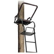 "Big Dog Foxhound II 16_ Ladder Stand, 17.2""x12"", 52lbs"