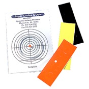 Specialty Archery Circle and Dots Combo Pack, Blk/Org/Yel