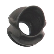Specialty Pro Series Hooded Super Ball Peep Housing, 37 degree, Black