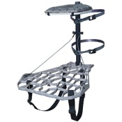 "Lone Wolf Assault II Hang-On Treestand, 26""x19.5"", 11lbs, Aluminum"
