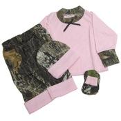 BCS L/S Pink Baby Gift Set, New Born, Pink/MO