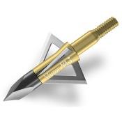 "Muzzy MX-3 3 Blade Broadhead, 3/pk., 75gr., BH, 1 3/16"" Dia., .025 Thick"