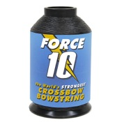 BCY Force 10 Crossbow String Material, 1/4lb., Black, Dynaema SK78