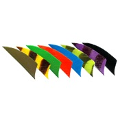 Trueflight Feathers Shield Cut, 2, 100/pk., Black, RW