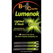 Burt Coyote Lumenok - 3/pk., X, 3/pk., Green, HIT/Axis