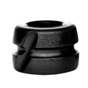 "Hot Shot Black EYE Peep, 1/4"", Black"