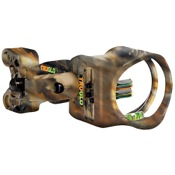 TruGlo Carbon XS Sight w/Light, Lost, 4 Pin .019, RH/LH