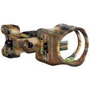TruGlo Carbon XS Sight w/Light, Lost, 4 Pin .019, RH/LH