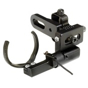 PSE Phantom Micro Drop-Away Arrow Rest, Black, RH