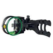 "Trophy Ridge Hit-Man Micro 5 Pin Sight, Black, 5 Pin .010"", RH/LH"
