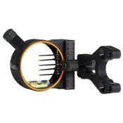 """Cobra Venom G2 Sight w/Ultra TKO Pins w/Light, Black, 5 Pin - .019"""", RH"""