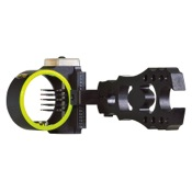 MBG Rush 5 Pin Sight, Black, 5 Pin .019, RH