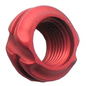 "Specialty Ultra Lite 45 Degree Peep, 1/8"", Red"