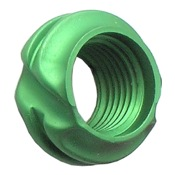"Specialty Ultra Lite 45 Degree Peep, 1/8"", Green"