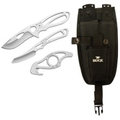 Buck PakLite Field Master Knife 3pc. Kit, Stainless