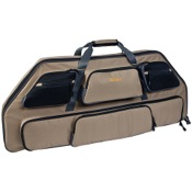 "Allen Gear Fit Pro Bow Case, 39"", Tan/Gry"